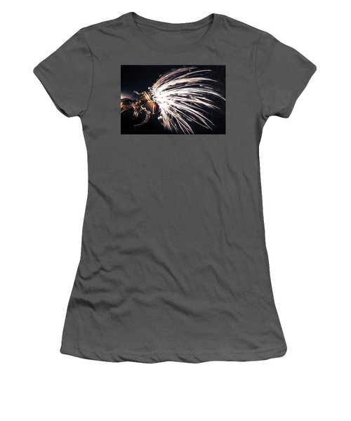 The Exploding Growler Women's T-Shirt (Athletic Fit)
