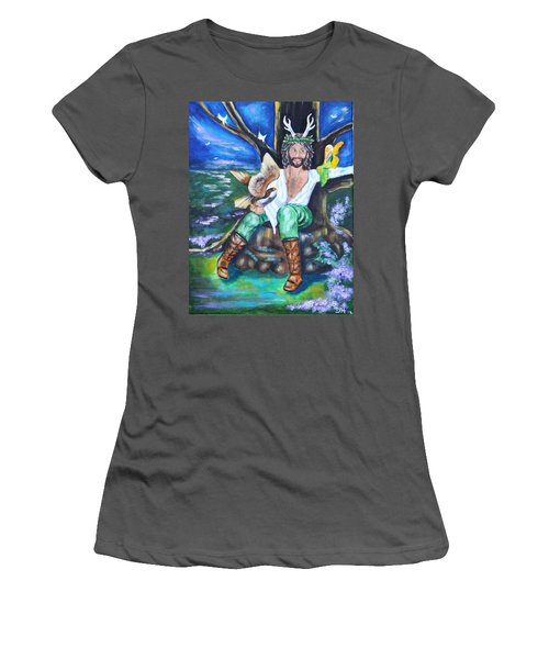 The Faery King Women's T-Shirt (Athletic Fit)