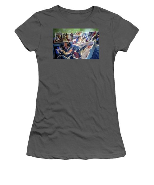 The Fish Market Women's T-Shirt (Athletic Fit)