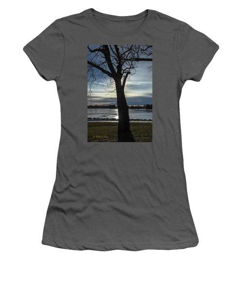 The Frozen Sun Women's T-Shirt (Athletic Fit)