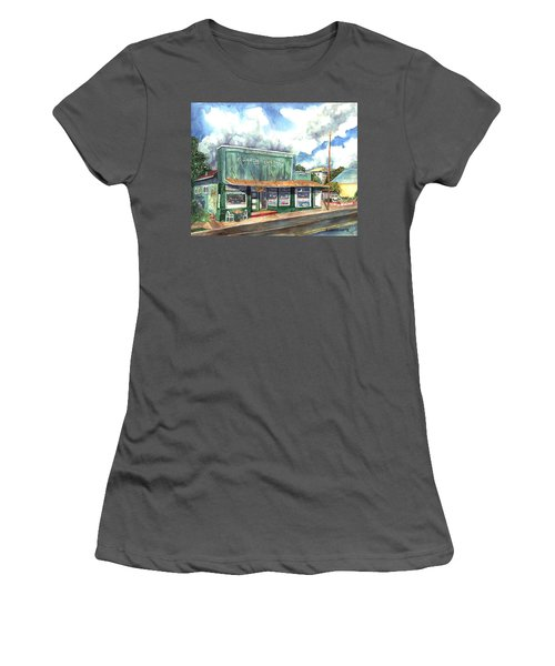 The Garcia Building Women's T-Shirt (Athletic Fit)