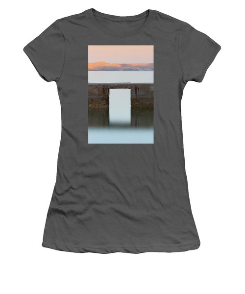 The Gate Of Freedom Women's T-Shirt (Athletic Fit)