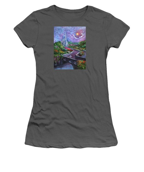 The Glass Slippers Women's T-Shirt (Junior Cut) by Randy Burns