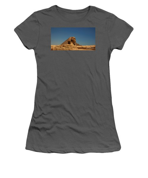 The Great Sphinx Of Giza 2 Women's T-Shirt (Athletic Fit)