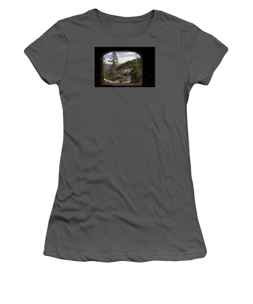 The Great View Of Yosemite Women's T-Shirt (Junior Cut) by Ivete Basso Photography