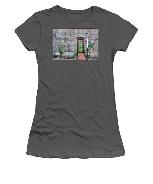 The Green Door Women's T-Shirt (Athletic Fit)