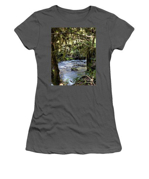 The Green Seen Women's T-Shirt (Athletic Fit)