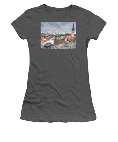 The Guard Of Tallinn Women's T-Shirt (Junior Cut) by Yury Bashkin