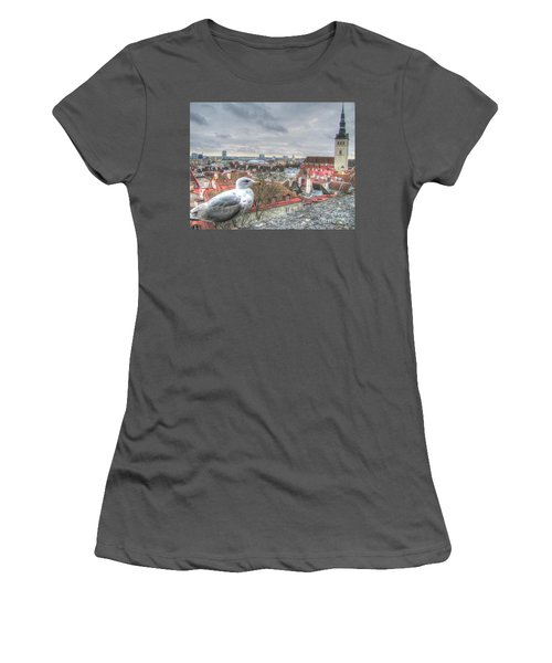 The Guard Of Tallinn Women's T-Shirt (Athletic Fit)