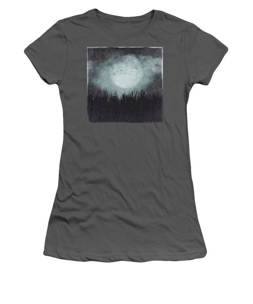 The Heavy Moon Women's T-Shirt (Athletic Fit)