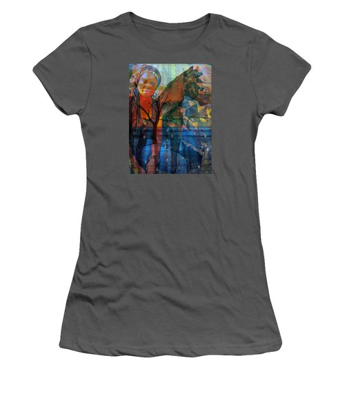 The Horse And Me Women's T-Shirt (Athletic Fit)