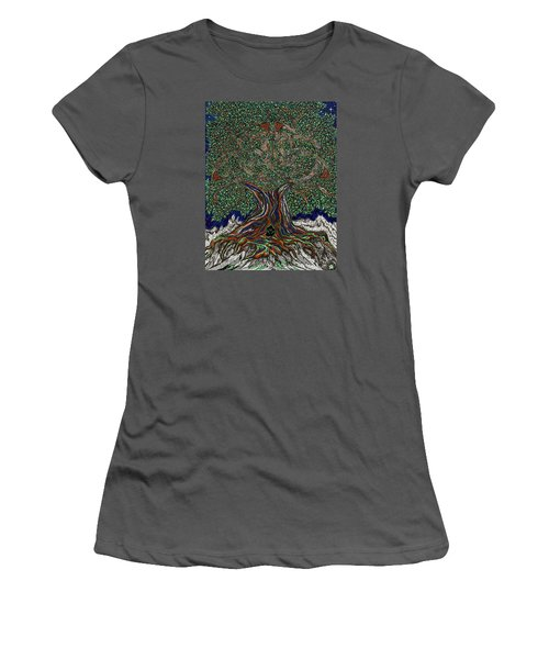 The Hunter's Lair Women's T-Shirt (Athletic Fit)