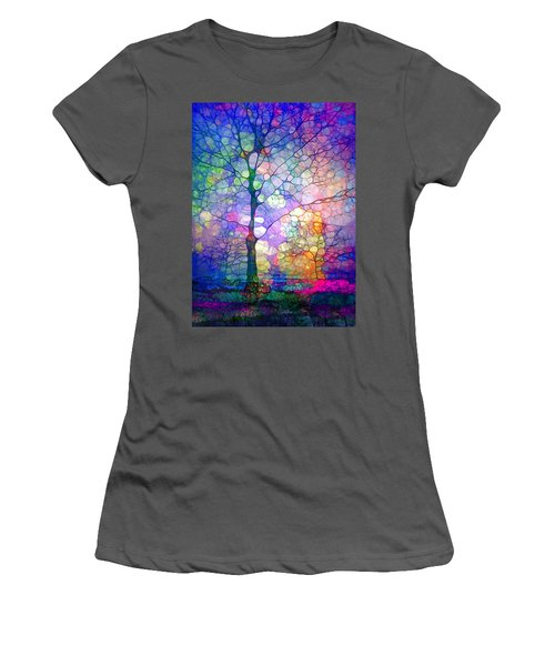 The Imagination Of Trees Women's T-Shirt (Athletic Fit)