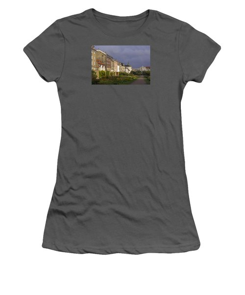 Women's T-Shirt (Junior Cut) featuring the photograph The Kings Garden by Inge Riis McDonald