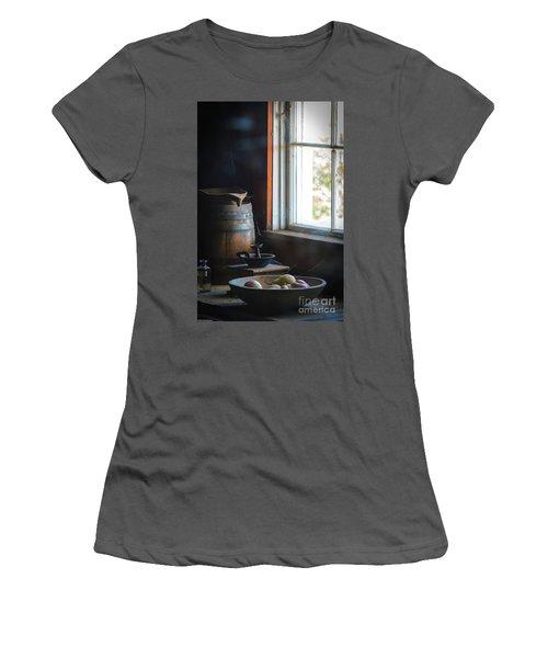 The Kitchen Window Women's T-Shirt (Junior Cut) by Mitch Shindelbower