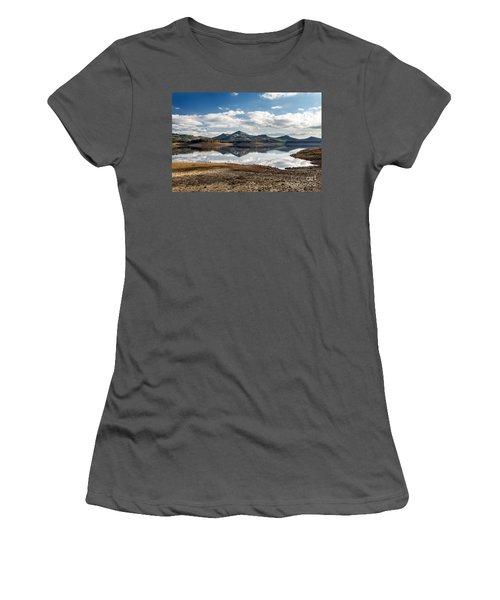 The Lake Women's T-Shirt (Junior Cut) by Giuseppe Torre