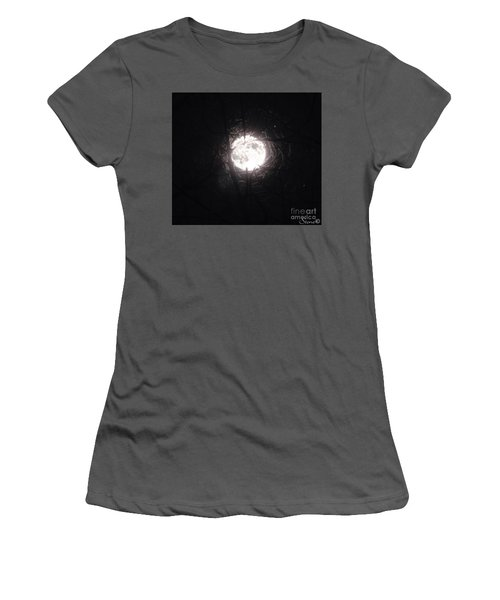 The Last Nights Moon Women's T-Shirt (Athletic Fit)