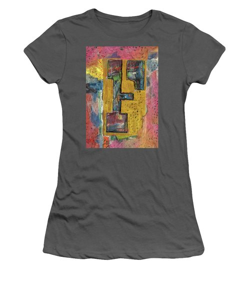 The Letter F Women's T-Shirt (Athletic Fit)