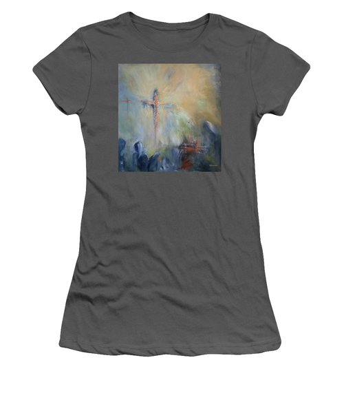 The Light Of Christ Women's T-Shirt (Athletic Fit)