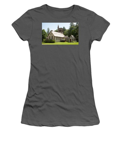 The Little Brown Church In The Vale Women's T-Shirt (Athletic Fit)