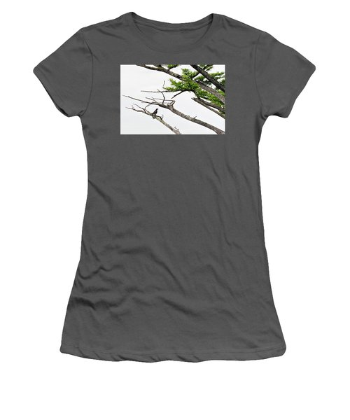 The Lone Osprey Women's T-Shirt (Athletic Fit)