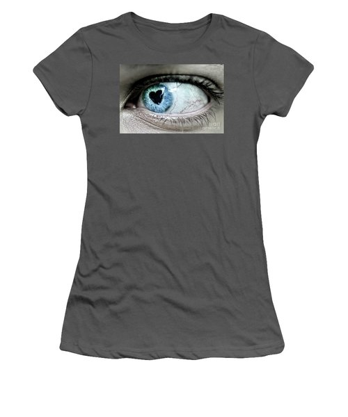 The Look Of Love Women's T-Shirt (Athletic Fit)
