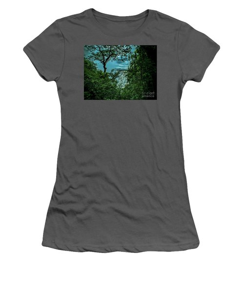 The Majestic Victoria Falls Women's T-Shirt (Athletic Fit)