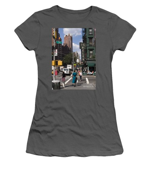 The Manhattan Sophisticate Women's T-Shirt (Athletic Fit)