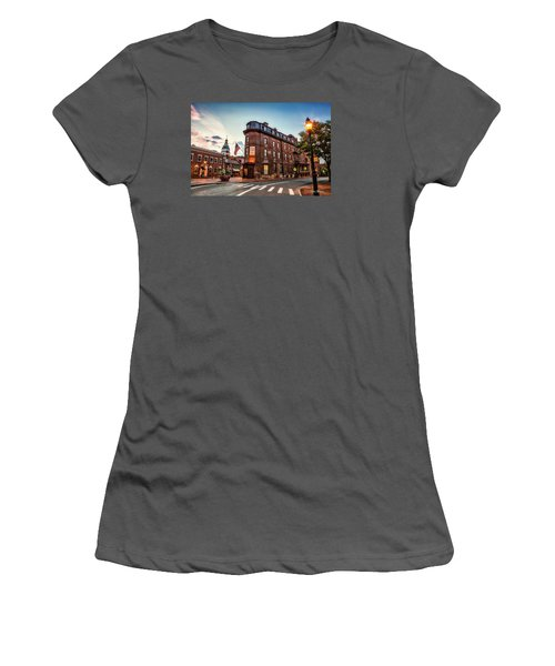 The Maryland Inn Women's T-Shirt (Athletic Fit)