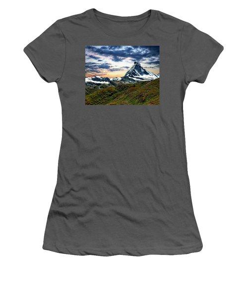 The Matterhorn Women's T-Shirt (Athletic Fit)