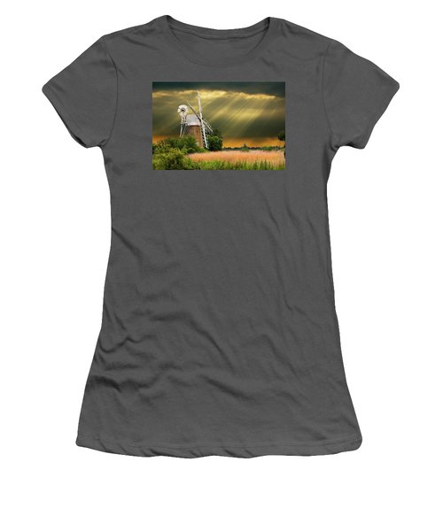 The Mill On The Marsh Women's T-Shirt (Athletic Fit)
