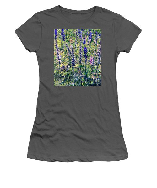 Women's T-Shirt (Junior Cut) featuring the photograph The Mix by Elfriede Fulda