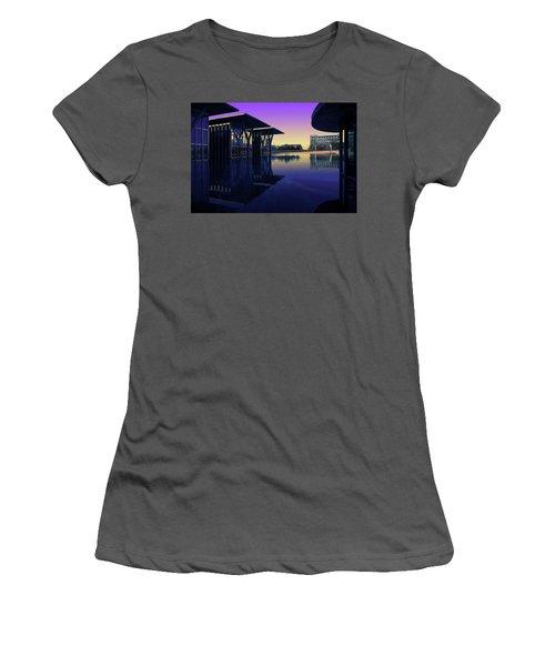 The Modern, Fort Worth, Tx Women's T-Shirt (Junior Cut) by Ricardo J Ruiz de Porras