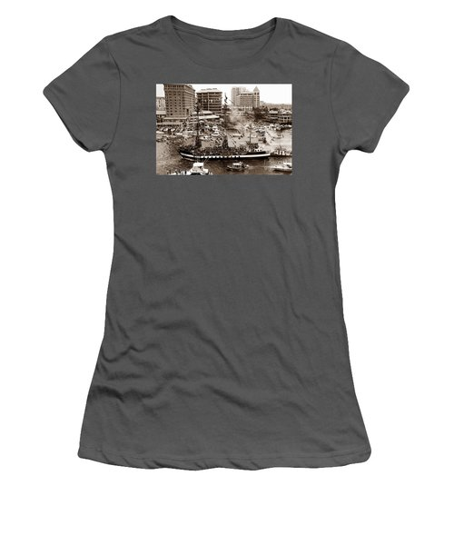 The Old Crew Of Gaspar Women's T-Shirt (Athletic Fit)