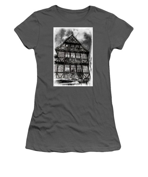 The Old Danish Buiding Women's T-Shirt (Athletic Fit)