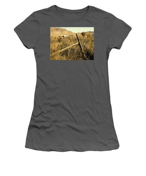 The Old Fence Post Women's T-Shirt (Athletic Fit)