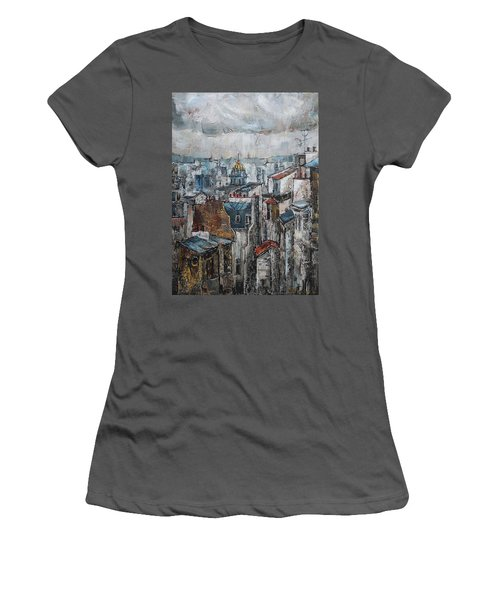 The Old Quarter II Women's T-Shirt (Athletic Fit)