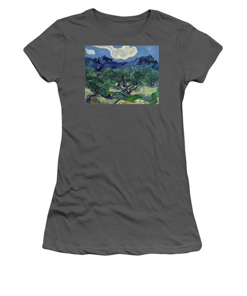 The Olive Trees Women's T-Shirt (Athletic Fit)
