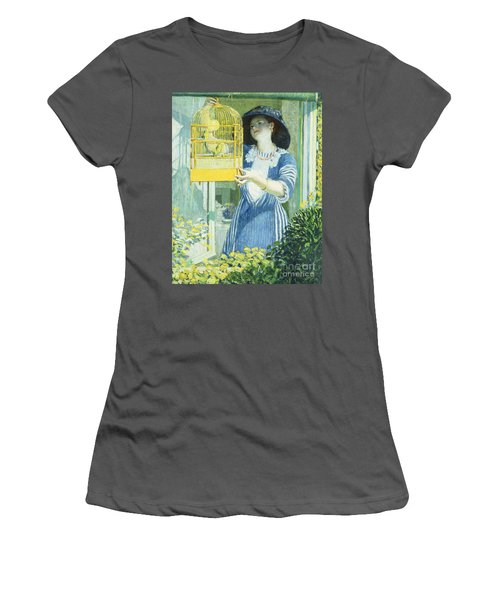 The Open Window Women's T-Shirt (Athletic Fit)