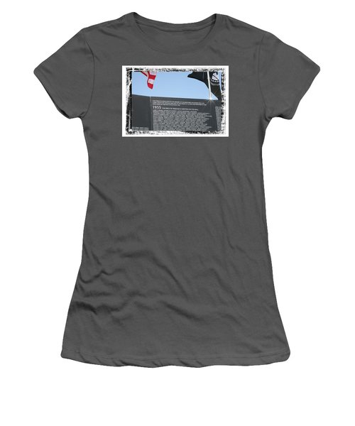 The Price Of Freedom Women's T-Shirt (Athletic Fit)