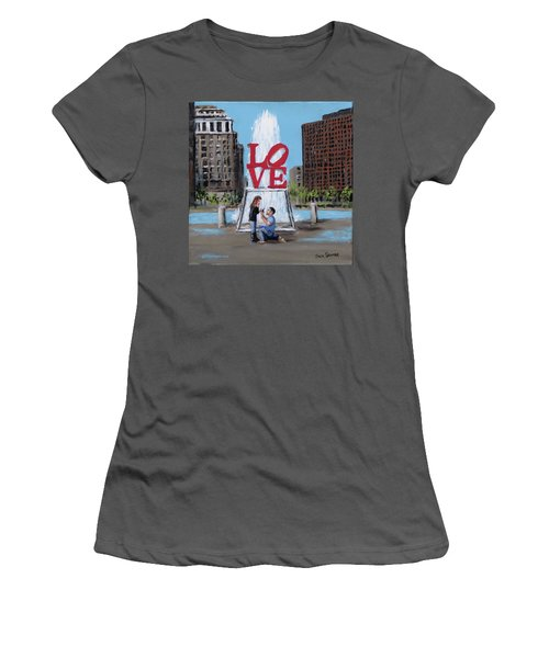 The Proposal Women's T-Shirt (Junior Cut) by Jack Skinner