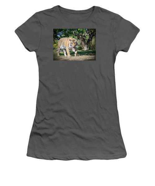 Women's T-Shirt (Junior Cut) featuring the photograph The Prowler by Judy Kay