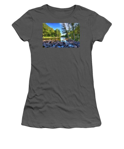 The Raquette River Women's T-Shirt (Athletic Fit)
