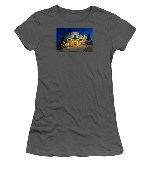 The Rialto Theater - Historic Landmark Women's T-Shirt (Athletic Fit)