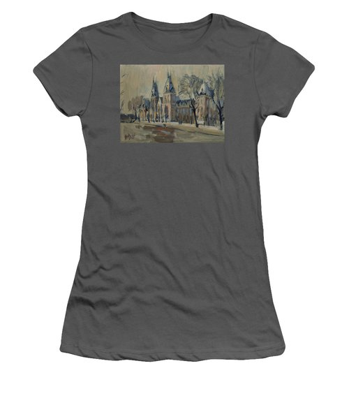 The Rijksmuseum After The Rain Women's T-Shirt (Athletic Fit)