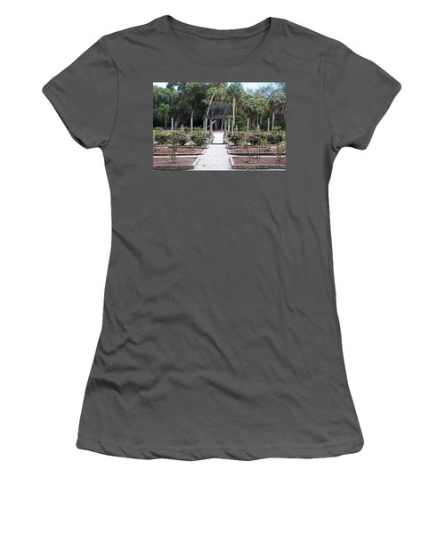 The Ringling Rose Garden Women's T-Shirt (Athletic Fit)