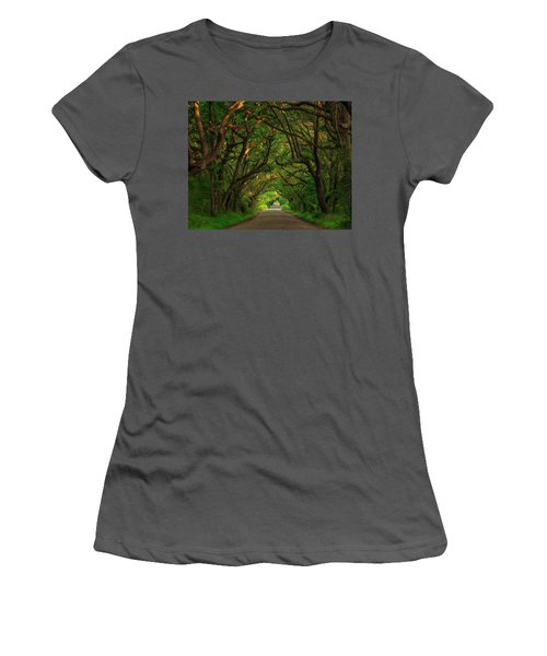 The Road To Heven  Women's T-Shirt (Athletic Fit)