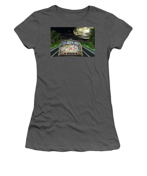 The Road Trip Women's T-Shirt (Junior Cut) by Angela Hobbs