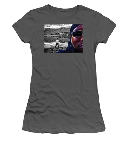 The Rough And The Rugged Women's T-Shirt (Junior Cut) by ISAW Gallery