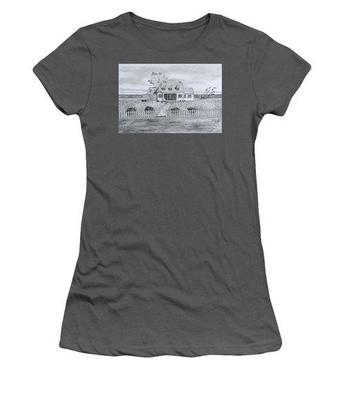The Sea Captains House  Women's T-Shirt (Athletic Fit)